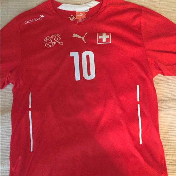 2014 Switzerland Soccer Jersey (world cup). M 5b6322da7c979db77f4d244f 6d727f419